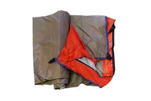 Палатка для кемпинга Supretto двухместная, оранжевая (6023)