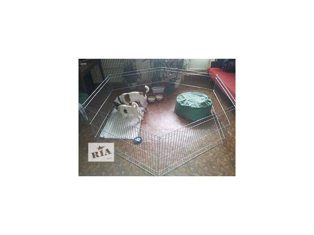 бу Манеж для разведения щенков или котят 200х100х60h см (продажа/аренда) в Киеве