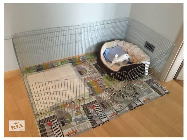 Манеж клетка для собак кошек птиц для собак кошек 200х100х60h 2в1- объявление о продаже  в Киеве