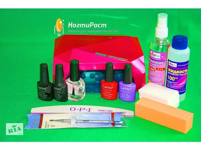 Набор для покрытия ногтей гель лаками Canni;