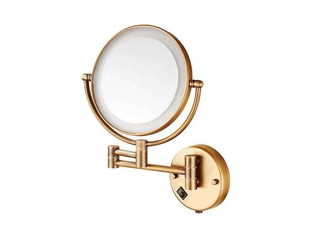 Настенное косметическое зеркало в ванную с LED подсветкой Art Design бронза- объявление о продаже  в Киеве
