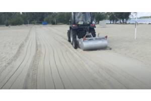 Машина для уборки пляжа СМ-1