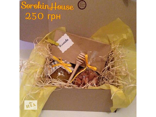 купить бу Медовый подарочный набор, подарок сладкий   в Украине