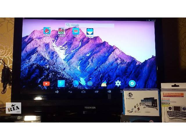 продам Медиаплеер ТВ приставка Андроид 4 ядра 1/8 Гб Wi-Fi плеер клавиатура бу в Полтаве