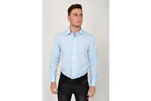 Рубашка 113RPass002 цвет Голубой