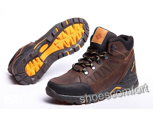 Шкіряні зимові чоловічі черевики Columbia модель 122 - 6 - Чоловіче ... 450998fca1e77