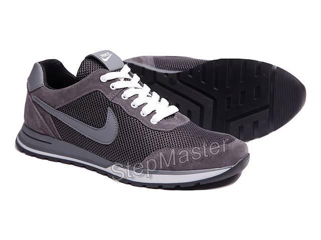 Кроссовки мужские летние Nike замша-сетка- объявление о продаже  в Вознесенске