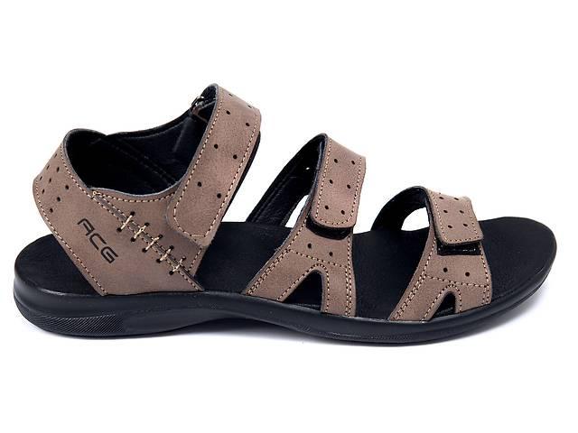 28ed0fb0 Мужские кожаные сандалии Nike Summer life blue