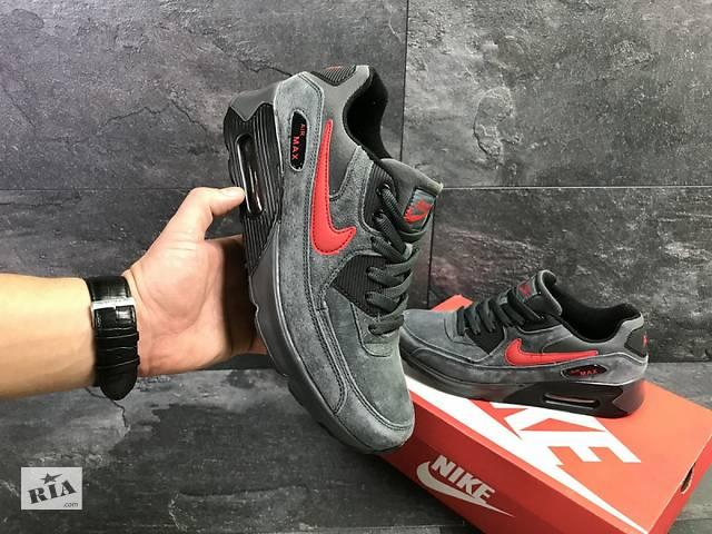 Чоловічі кросівки сірі з червоним Nike Air Max 7042- объявление о продаже в  Одесі d984f41d1f8b8
