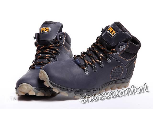 26ee231d Зимние кожаные ботинки Timberland Winter Track синие - Мужская обувь ...