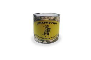 Подарок Законсервированные носки настоящего казака в банке 41-45 Темно-синий (n_J03)