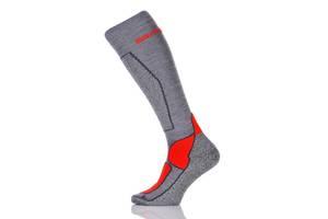 Шкарпетки лижні Spaio Merino Vigour 38-40 Grey-Red - 187645