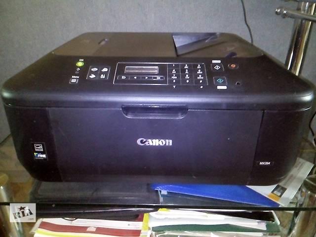 МФУ (цветной принтер) Canon Pixma mx394 Киев- объявление о продаже  в Киеве