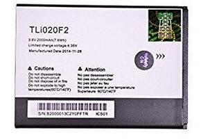 Акумулятор, батарея Alcatel TLi020 One Touch Fierce 2 7040T / Glory 2 / Inspire 2 оригінал