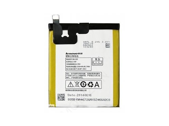 купить бу Акумулятор батарея BL220 для Lenovo S850 A860 оригінал в Дубні