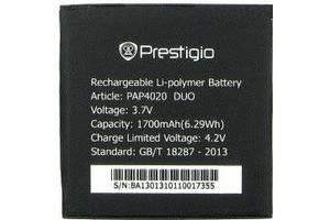 Акумулятор батарея для Prestigio MultiPhone PAP 4020 оригінальний