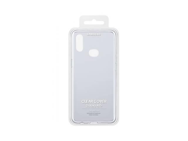 купить бу Чехол для моб. телефона Samsung Galaxy A10s (A107) Clear Cover Transparent (EF-QA107TTEGRU) в Киеве