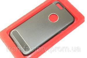 Чехол на Apple Phone 6 plus/6S plus задняя крышка металлическая  (разные цвета):Black