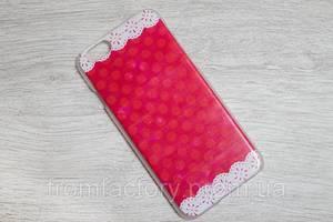 Чехол на заднюю панель Пластиковый ( c узором) Apple Iphone 6/6s