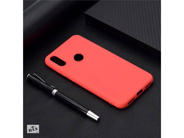 купить бу Чехол Soft Touch для Honor 8A силикон бампер красный в Киеве