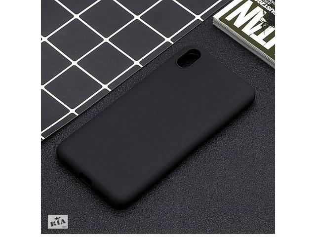 Чехол Soft Touch для Xiaomi Redmi 7A силикон бампер черный- объявление о продаже  в Киеве