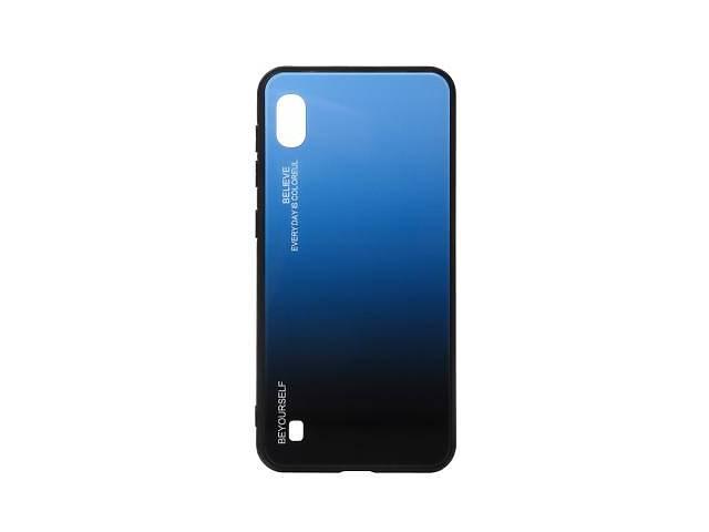 купить бу Чехол для моб. телефона BeCover Samsung Galaxy A10 2019 SM-A105 Blue-Black (703542) в Киеве