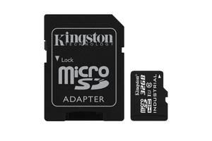 Карта памяти Kingston 32Gb microSDHC class 10 UHS-I Industrial (SDCIT/32GB)