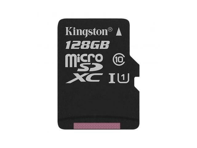 продам Карта памяти Kingston 128GB microSDXC Class 10 Canvas Select Plus 100R A1 (SDCS2/128GBSP) бу в Киеве