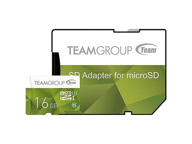 Карта памяти Team 16GB microSD Class 10 UHS-I (TCUSDH16GUHS43)- объявление о продаже  в Киеве