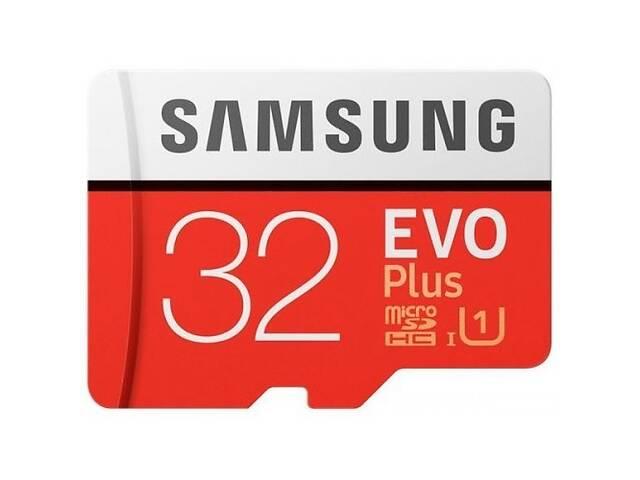 бу Samsung microSDHC 32GB EVO PLUS UHS-I (R95, W20MB.s) (Код товара:3911) в Харькове