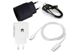 Сетевое зарядное устройство зарядка Huawei (Honor) Type-C 2 в 1 оригинал для