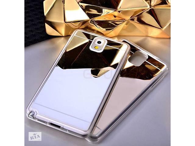 бу Силиконовый зеркальный чехол для Samsung Galaxy Note 4 N980 в Дубно