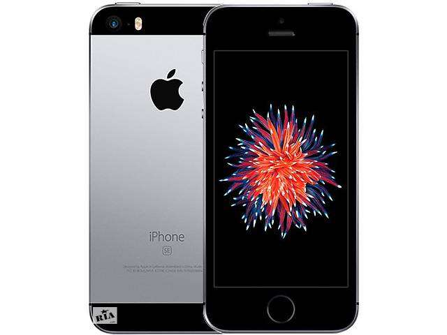 купить бу Apple iPhone SE 32GB Space Gray (MP822) в Киеве