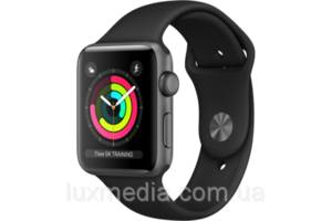 Apple Watch Series 3 42mm GPS Spase Gray Aluminum Case with Gray Sport Band (MQL02)