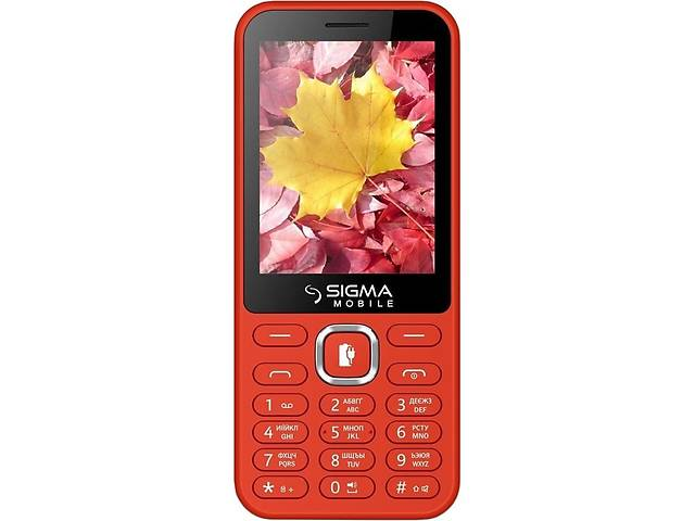 бу Мобильный телефон Sigma mobile X-style 31 Power Dual Sim Red; 2.8 (320х240) TN / клавиатурный моноблок / MediaTek MTK... в Харкові