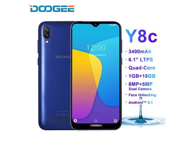 продам Оригинал ( не копия! ) смартфон Doogee Y8  Экран 6.1 Android 9.0  3/16 гб бу в Кривом Роге