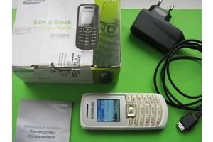 б/в Іміджеві мобільні телефони Samsung Samsung E1080