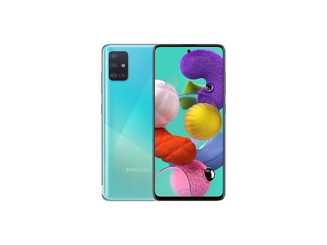 купить бу Samsung Galaxy A51 SM-A515F 4/64GB Blue (SM-A515FZBUSEK) UA (Код товара:10167) в Харькове