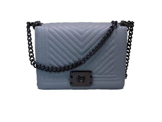 продам Модная женская сумочка Chanel цвет серый бу в Киеве