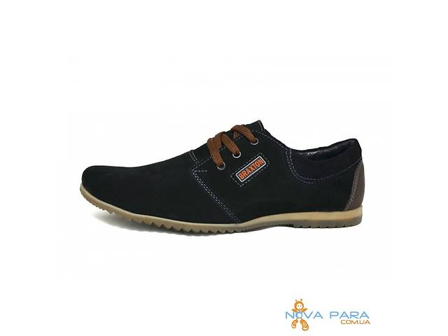 Мокасины замша Braxton Tolerance 377 Black - Мужская обувь в ... 018384086a5