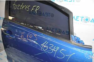 Молдинг дверь-стекло центральный перед прав Kia Forte 4d 14-18 черн 82220-A7000 разборка Алето Авто запчасти Киа Форте