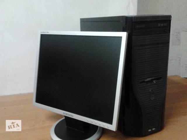 бу Монитор 17(TFT), Intel, 2 ядра e21хх, 1,5гб, 80Гб    в Киеве