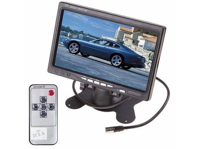 купить бу Монитор 7.0 дюймов в авто, для камеры заднего вида, домофон в Киеве