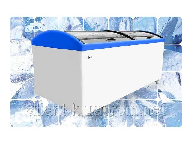 купить бу Морозильная бонета JUKA M 1000 V с гнутым стеклом в Києві