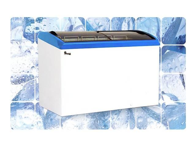 купить бу Морозильный ларь JUKA 506л, 6 корзин,  с гнутым стеклом в Киеве