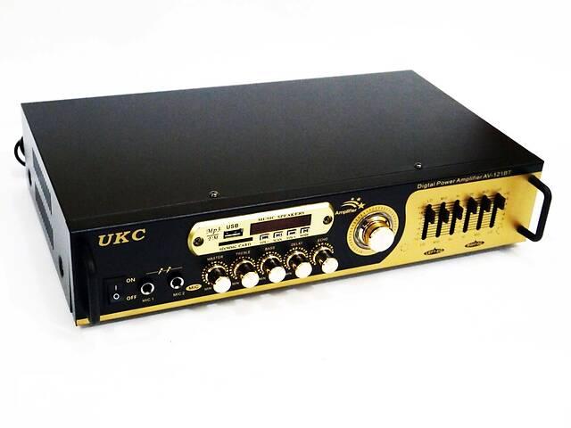 бу Підсилювач звуку UKC AV-121BT Bluetooth USB + КАРАОКЕ 2микрофона в Дніпрі (Дніпропетровськ)