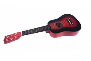 Гитара деревянная M 1370 (Красный)