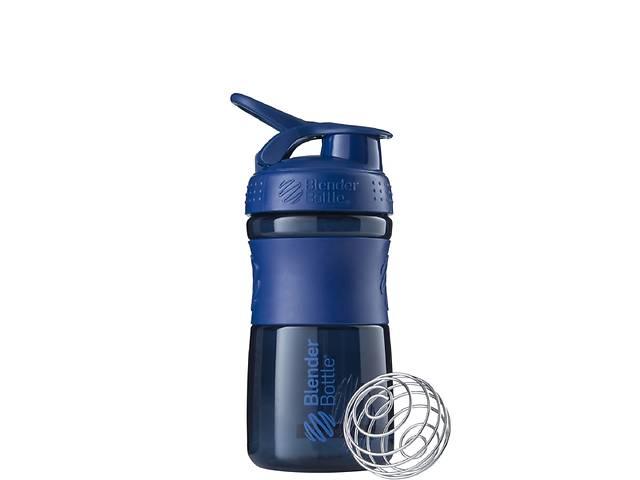купить бу Спортивная бутылка-шейкер BlenderBottle SportMixer 590ml Navy SKL24-144880 в Одессе