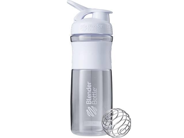 Бутылка-шейкер спортивная BlenderBottle SportMixer 820ml White SKL24-144854- объявление о продаже  в Одессе