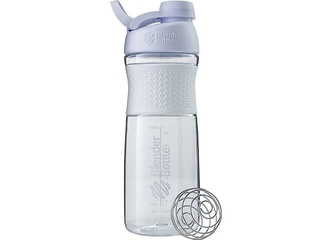 купить бу Бутылка-шейкер спортивная BlenderBottle SportMixer Twist 820ml White SKL24-144923 в Одессе